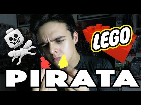 ¡ME ESTAFARON! UN LEGO PIRATA / NAVY
