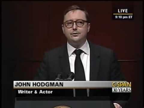 John Hodgman at Radio & TV Correspondents' Dinner