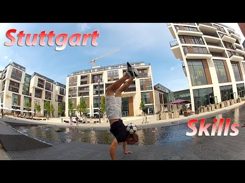 UNGLAUBLICHE FUSSBALL SKILLS | Stuttgart thumbnail