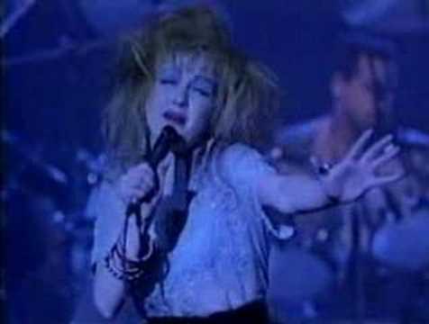 Cyndi Lauper-All through the night