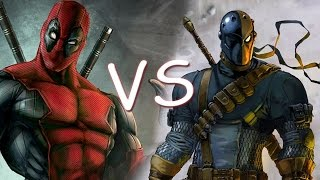 Deadpool vs  Deathstroke FULL FANDUB