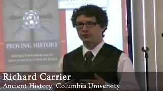 Video: You could invent Christianity or any cult quoting Old Testament text - Richard Carrier