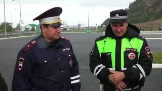 "Хоккеисты ""Югры"" в рейде с ДПС Ханты-Мансийска"
