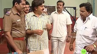 NATHASWARAM|TAMIL SERIAL|COMEDY|VEL IN POLICE STATION FOR WIG