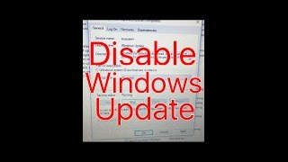 How To Disable Automatic Windows Update In Windows 10
