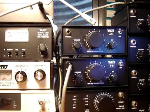 Ten-Tec T1340 QRP Kit Demonstration