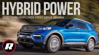 2020 Ford Explorer Hybrid Review: Your new family hauler