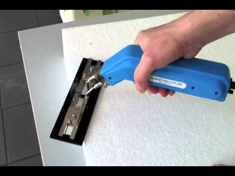 Styroporschneider HSGM Styro-Cut 230 mit Profilschnitt-Adapter P-A, Styrofoamcutter Styro-Cut 230