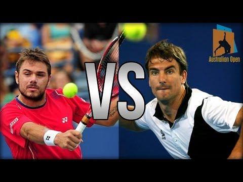 Stanislas Wawrinka Vs Tommy Robredo Australian Open 2014 Highlights
