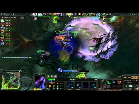 Na'Vi vs DK - Game 3, Winner Bracket Quarter Finals - The International - English Commentary