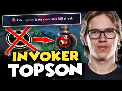 BEST INVOKER CONFIRMED! TOPSON Showed His Best Skills To DESTROY Evil Geniuses - GAME OF THE DAY TI8