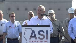 Alton Steel Visit