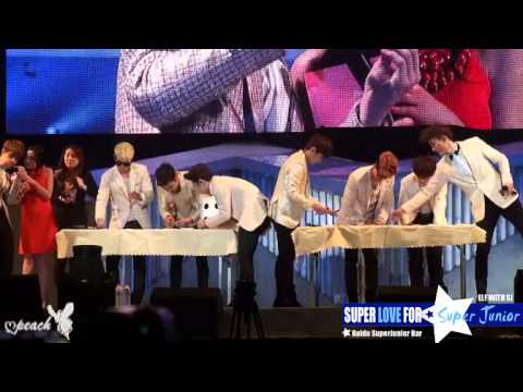 [FULL][百度SJ吧] 130414 SJ-M Fan Party in Beijing