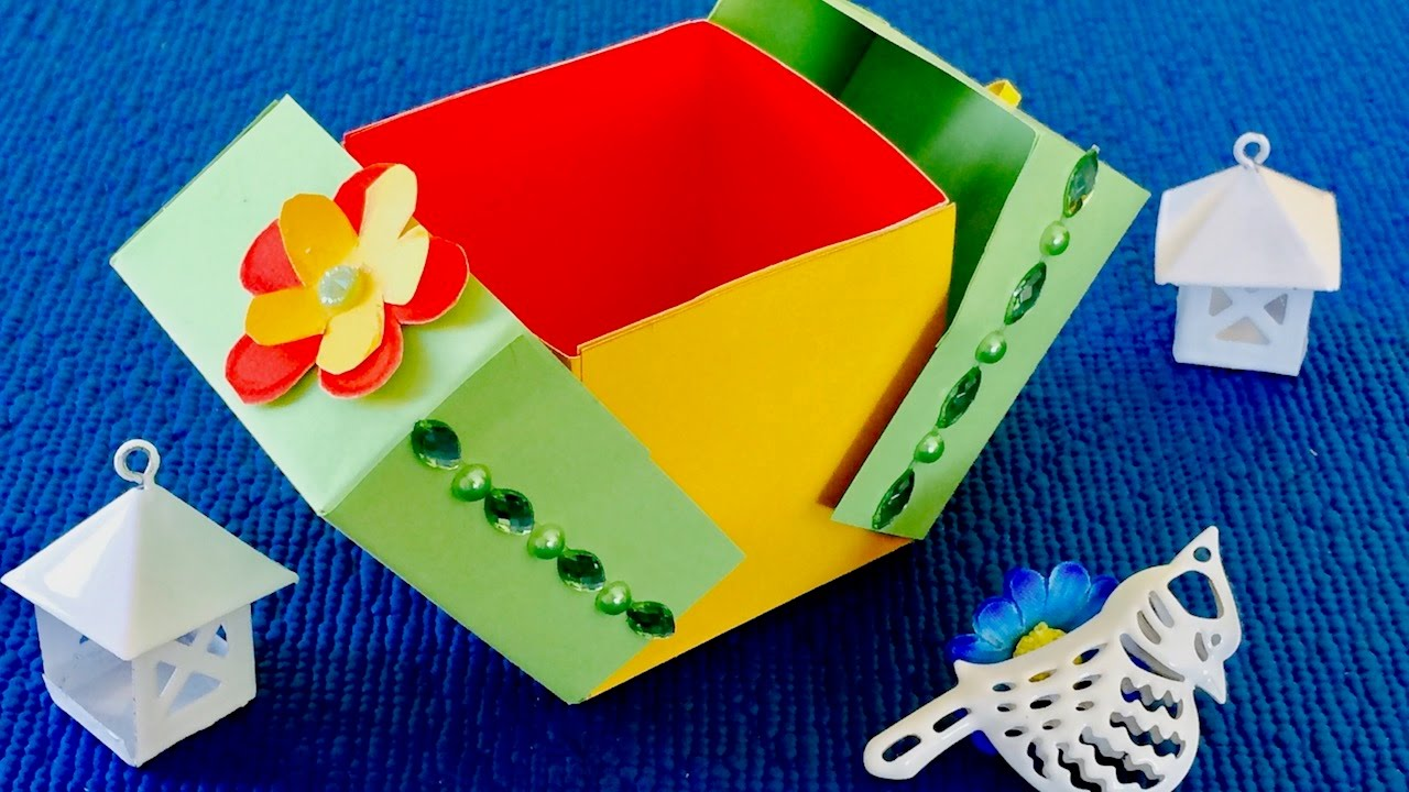 Коробочка сюрприз своими руками для детей 12