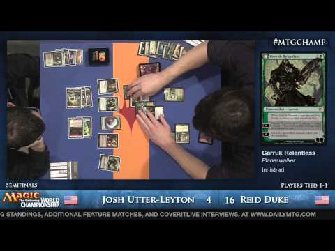 2013 Magic World Championship Semifinals: Reid Duke vs. Josh Utter-Leyton (Modern)