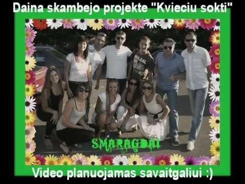 """LNK """"Kvieciu sokti"""" - Smaragdinis choras, 4 akordai Popuri (new!)"""