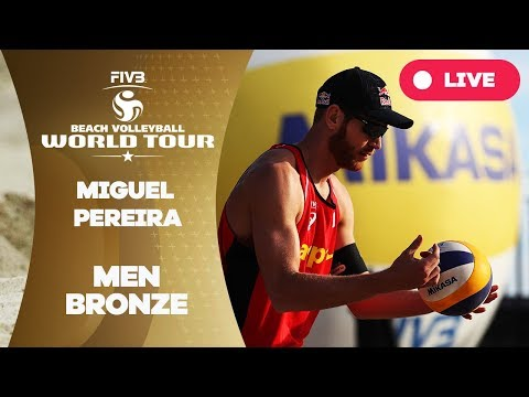 Miguel Pereira 1-Star - 2018 FIVB Beach Volleyball World Tour - Men Bronze Medal Match