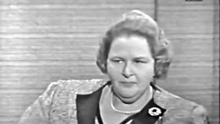 What's My Line? - Kate Smith; PANEL: Tony Randall, Betty White (Dec 12, 1965)