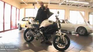2009 Ducati Monster 696 for sale with test drive, driving sounds, and walk through video