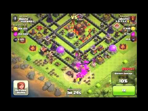 Town hall level 6 defense strategy for clash of clans awesome raiding