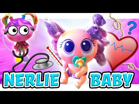 NeoNate Nerlie Koloreenies Distroller Unboxing! Featuring Alushhhes Dolls and Learn Colors