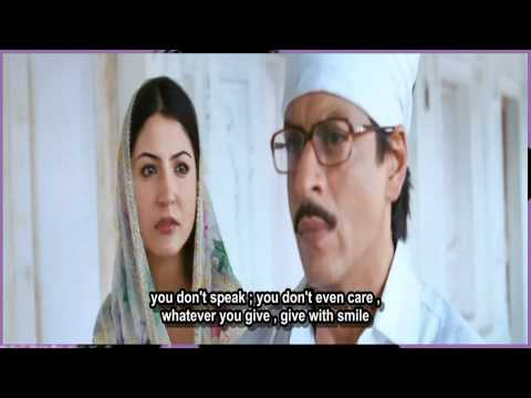 Tujh Mein Rab Dikhta Hai {sad} - Eng Subs - Rab Ne Bana Di Jodi - Full Song - *hq* *hd* ( Blue Ray ) video