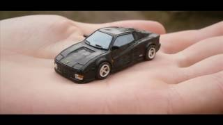 Ferrari Testarossa Как слепить из пластилина |Tutorial how to sculpt Ferrari from clay(Play Doh)