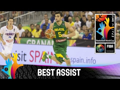France v Brazil - Best Assist - 2014 FIBA Basketball World Cup