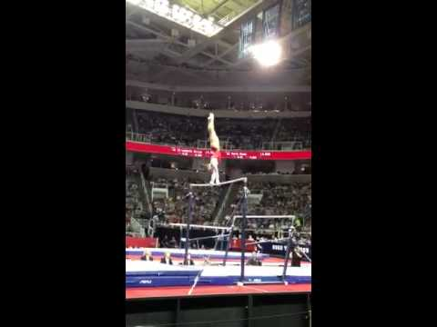 Jordyn wieber uneven bars 2012 Olympic trials