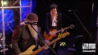 "ZZ Top ""La Grange"" on the Howard Stern Show"