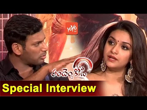 Vishal And Keerthi Suresh Interview | Pandem Kodi 2 Telugu Movie Team | YOYO TV Channel
