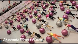 Fit Ball  Akademia Fitness Planet Wrocław  2014