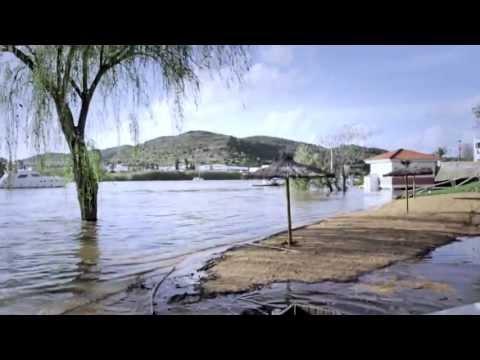 Inundaciones en Sanlúcar de Guadiana y Alcoutim Abril 2013