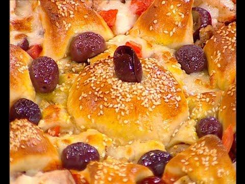 طريقة عمل بيتزا النجمه على طريقة الشيف #هاله_فهمي من برنامج #البلدى_يوكل #فوود