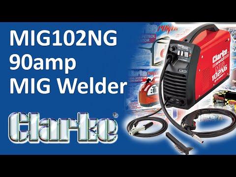 UNBOXING - MIG102NG 90amp No Gas MIG Welder