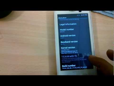 X10i New Custom ROM from Xperia ARC - ThGo2 v17.0 [elegant] [ICS theme]