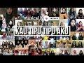 Musical.ly Kau Tipu Tipu Aku | Musically Terbaik Malaysia X Indonesia Tak Tahu Malu Versi Perempuan
