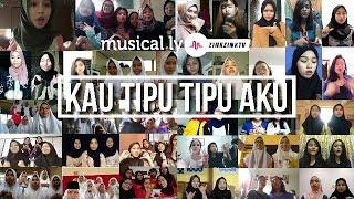 Musical.ly Kau Tipu Tipu Aku   Musically Terbaik Malaysia X Indonesia Tak Tahu Malu Versi Perempuan