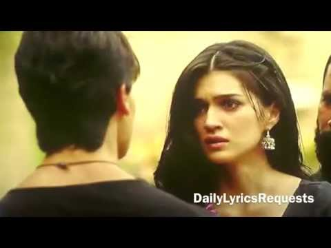 Heropanti Tere Bina Lyrics video