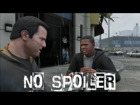 Grand Theft Auto V Michael Kills Franklin Free Roam