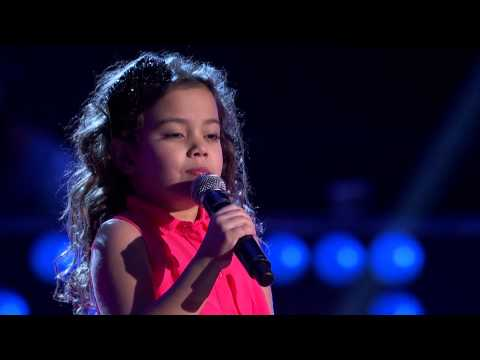 La Voz Kids | Lea del Castillo canta ?Que Te Pasa? en La Voz Kids