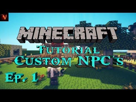 видео про майнкрафт 1.6.4 мод custom npc #6