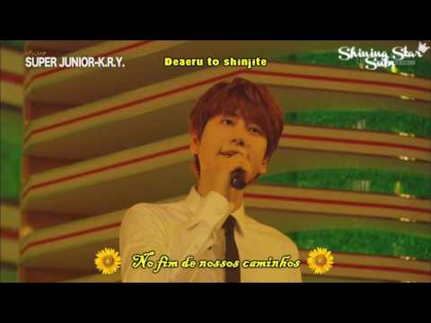 [LIVE] Super Junior K.R.Y - Himawari No Yakusoku - Legendado [PT-BR/ROM]