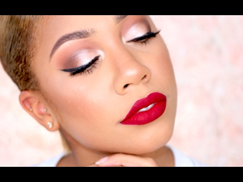 100% DRUG STORE CLASSIC VALENTINE'S DAY MAKEUP TUTORIAL + CHIT CHAT   FaceOverMatter