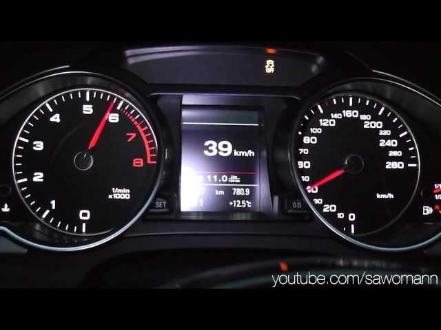 2013 Audi A5 Coupé 2.0 TFSI quattro 225 HP 0 ... - YouTube