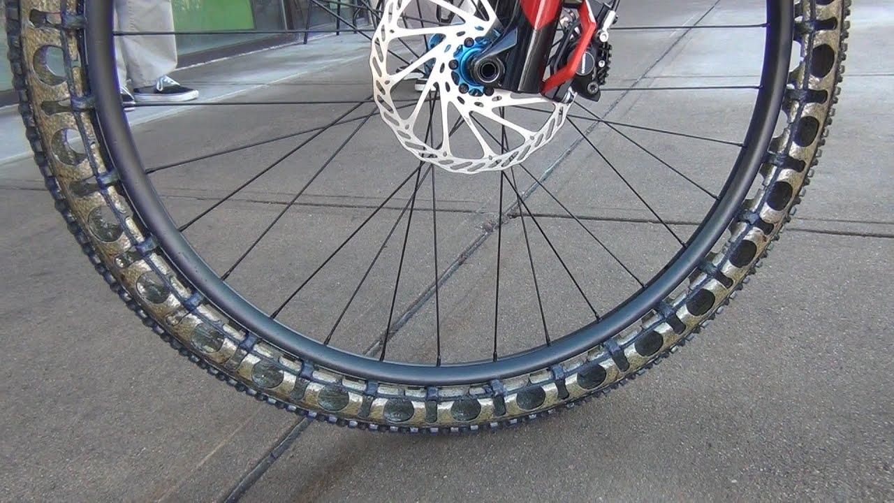 Erw Airless Bike Wheel Youtube