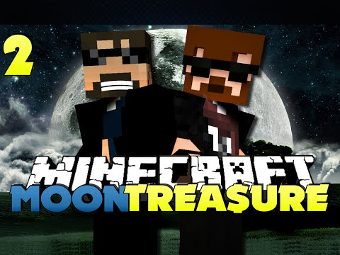 Minecraft Modded Moon Treasure 2 - WE WILL FLY, TOGETHER