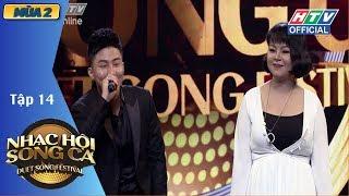Diva Hồng Nhung bất ngờ có mặt tại HTV NHẠC HỘI SONG CA MÙA 2   NHSC #14 FULL   15/7/2018