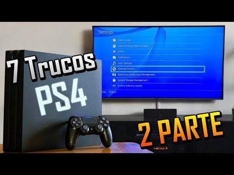 7 Trucos para PS4 2018 - PARTE 2