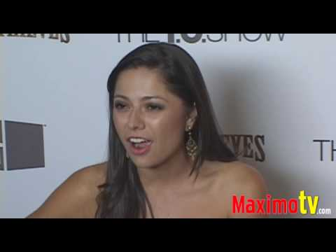 Playmate PILAR LASTRA at Terrell Owens 'The TO Show' Party July 16 2009 Video